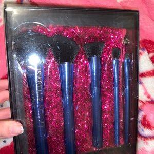 Makeup brush and bag